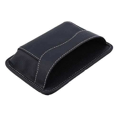 Bolsas Para Bolsa De Coche Para Llaves Caja De Almacenamiento Universal Para Organizador De Coche Para Teléfonos De Automóvil, Accesorios Para Coche Negro 12 * 17 Cm