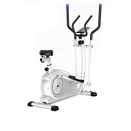 AJH Home Cross Trainer, eliptical machines, 8 Level Magnetic Resistance, Cardio Workout, 10KG Two Way Flywheel, Console Display with Tablet Holder.