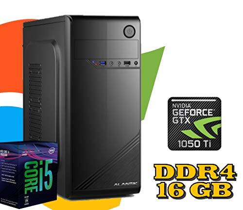 PC DESKTOP FISSO Intel i5-9400F /RAM 16GB DDR4 / HD 1TB / SCHEDA Video GTX 1050 Ti 4GB / WI-FI/LICENZA WINDOWS 10