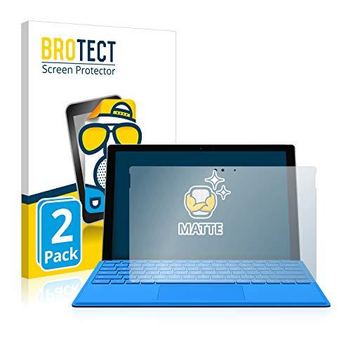 BROTECT 2X Entspiegelungs-Schutzfolie kompatibel mit Microsoft Surface Pro 4 Bildschirmschutz-Folie Matt, Anti-Reflex, Anti-Fingerprint