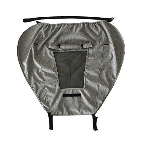 zhibeisai Toldo Impermeable Sillita de bebé del Cochecito de sombrilla portátil UV Cortina de Sun del Protector