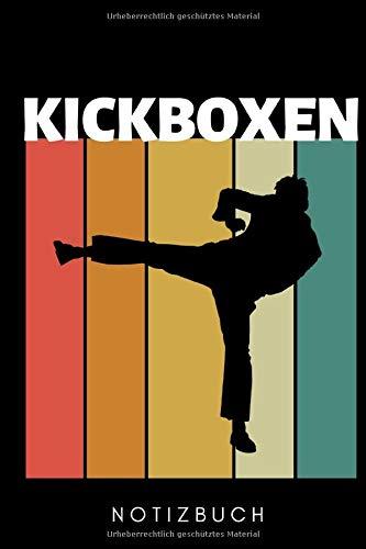 KICKBOXEN NOTIZBUCH: A5 Notizbuch LINIERT Kickboxen | Kickbox Buch | Boxen | Kampfkunst Bücher | Kampfsport | Training | Trainingsbuch | Kickboxer | Sport | Kampfsportler