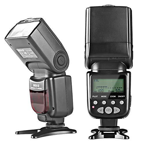 Meike MK950II-N Speedlite Camera Flash Upgrade Edition for Nikon D7100 D7000 D5300 D5200 D5000 D3100 D3200 D600 D90 D80 Z6 Z7