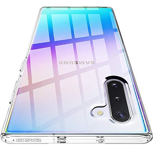 Spigen Cover Liquid Crystal Compatibile con Samsung Galaxy Note 10 - Crystal Clear