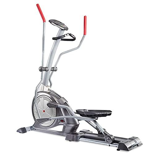Ellittica Cross Trainer per Palestra Domestica con 10 kg di Volano, 145 kg di Peso Dell'Utente, Monitor LCD, Sensore di Frequenza Cardiaca E Resistenza Magnetica A 16 Livelli