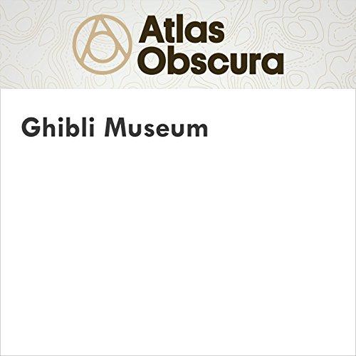 Ghibli Museum audiobook cover art