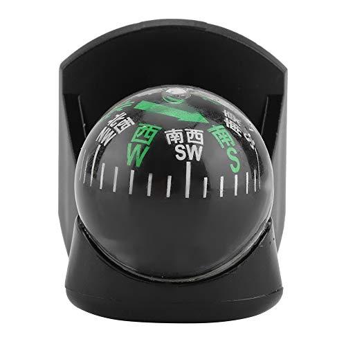 Auto kompas bal voertuig draagbaar Car Boot LKW Navigatie Digital Ball Shaped Compass Black Eenvoudig te installeren binnen voertuig dashboard instrumenten uitlijning