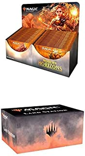 The Gathering Modern Horizons Booster Box + Land Station | 36 Booster Packs | 540 Magic Cards + 400 Lands | Factory Sealed
