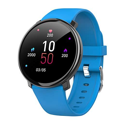 MMFFYZ Reloj Inteligente, Frecuencia Cardíaca, Control De La Presión Arterial, Reloj Inteligente, Rastreador De Ejercicios, Llamada Bluetooth, Reloj Inteligente A Prueba De Agua(Color:B)
