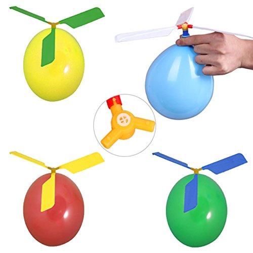 6x Ballon Helikopter Hubschrauber Luftballon Propeller Mitgebsel Kindergeburtstag