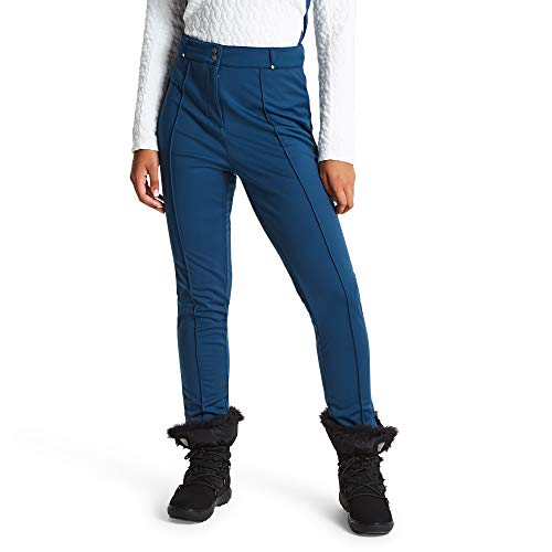Dare 2b Damen Slender Trouser Waterproof, Breathable & Windproof Tapered Fit Ski & Snowboard Softshell Pant Lifthose, Blau (Blue Wing), 10 UK