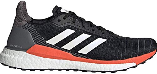 adidas Solar Glide 19 Black White Solar Orange 43