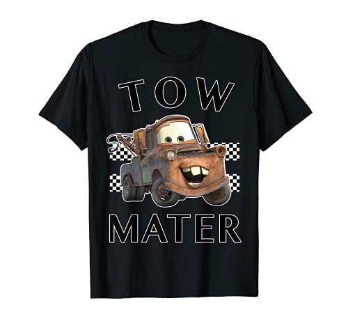 Disney Pixar Cars Tow Mater Finish Graphic T-Shirt T-Shirt