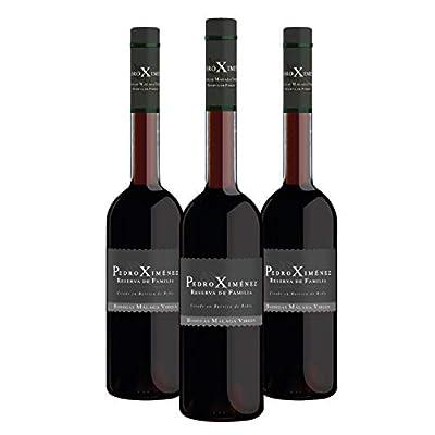 """Pack Pedro Ximénez Reserva de Familia - 3 bottles 50cl - Sweet liquor wine D.O.""""Málaga"""""""