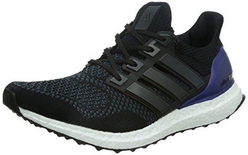 adidas Ultra Boost M, Zapatillas de Running Hombre, Negro (Core Black/Core Black/Gold Met. Core Black/Core Black/Gold Met.), 40 2/3 EU