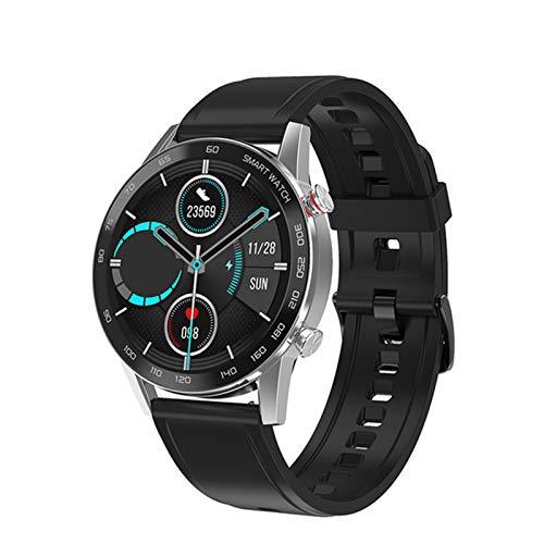 QNMB DT95 Bluetooth Call Smart Watch Monitor de Calor para Hombres 360 * 360 HD Pantalla IPS IP68 Deportes Impermeables SmartWatch,C