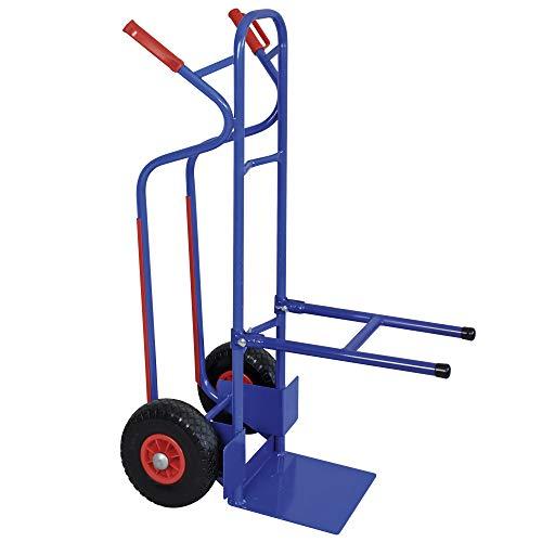 Stuhlkarre mit pannensicheren Reifen, BxTxH 520 x 820 x 1300 mm, Tragkraft 250 kg