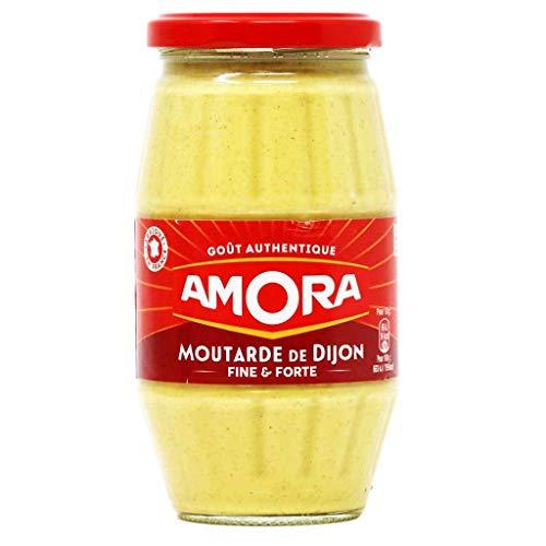 Amora Senf Moutarde de Dijon fein und scharf 440 g