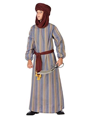 Atosa-56803 Disfraz ÀRabe, Color marrón, 7 a 9 años (56803)
