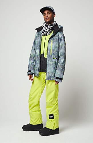 O'Neill Herren PM Diabase Jackets Snow, Green AOP, XL