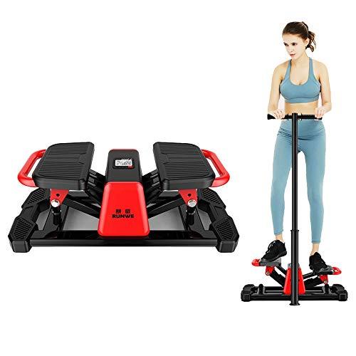 K-Y Stepper Aerobic Side Steppe Einstellbare Übungsstepper, Home Fitness Equipment Schlafzimmer Wohnzimmer - Schwarz - Hometrainer