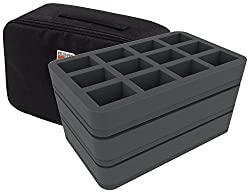Blood Bowl Storage To Safely Transport Your Miniatures The second edition blood bowl game box foam kit will conveniently store and organize both imperial nobility and black orc miniatures, pitch, dugouts, cards, templates, game tokens, balls and dice. blood bowl storage to safely transport