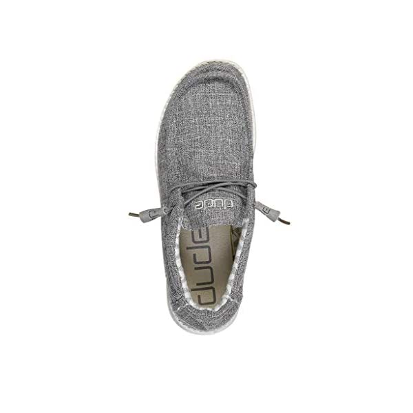 Hey Dude Mens Wally Linen Loafer