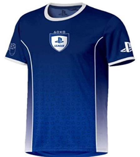 Sony Playstation - Fade Esports - Hombre Oficial Camiseta de Fútbol -...