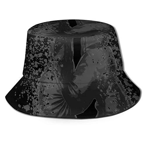 XBYC Rocky Balboa Fisherman Mütze Schwarz Classy One Size Fisherman's Hut für Männer & Frauen