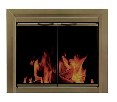 Lowest Price! HDesigns- Fireplace Screens Decorative-Antique Brass 31 H x 37.5 W-Enjoy The Warmth ...