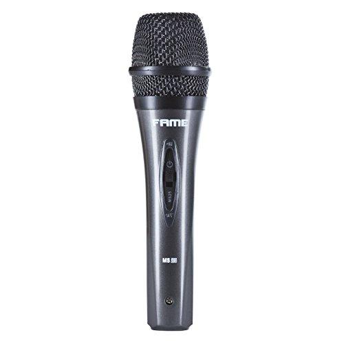 Fame Audio MS 25 Gesangsmikrofon dynamisch, inkl. Case u. Kabel