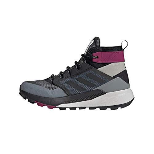 adidas Terrex Trailmaker Mid GTX W, Zapatillas de Hiking Mujer, GRIMET/NEGBÁS/BAYINT, 37...