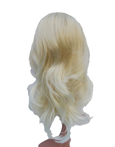 VANESSA GREY Queue de Cheval Ponytail Toutes les couleurs disponibles, L'extension De Cheveux Extra Longue Et Volumineuse Postiche 11 Blonds Platines