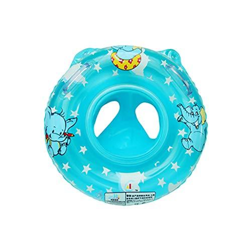 Yowablo Baby Schwimmring Float Kleinkind Kinder Floating Badeanzug Geeignet 1-3 Jahre (1Stck,Blau)