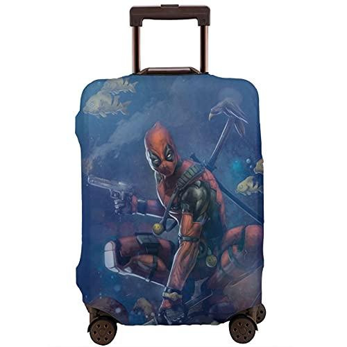 Dead-Pool Kofferschutz Tasche waschbar 3D Druck Design 4 Größen für die meisten Gepäck Schutztasche Reißverschluss