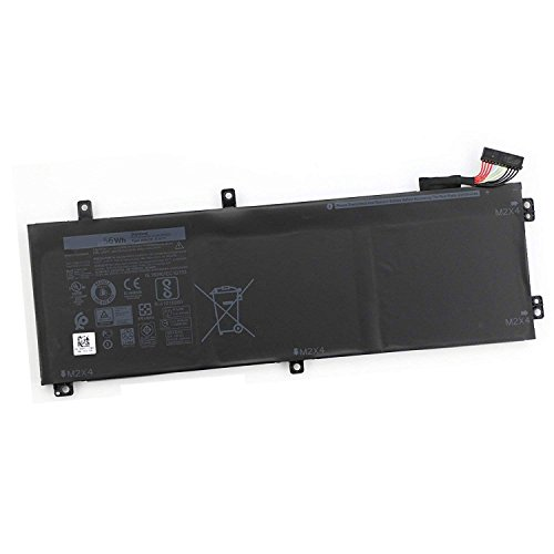 FLIW H5H20 Replacement Laptop Battery Compatible with DELL XPS 15 9550 9560 9570 Series Precision M5510 M5520 5510 5520 62MJV M7R96 5D91C [11.4V 56Wh]