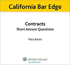 California Bar Edge: California Contracts Short Answer Questions for the Bar Exam