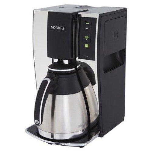Mr. Coffee Smart Cafetière programmable 10 tasses avec WeMo