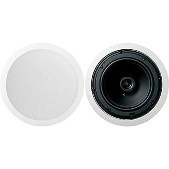 Jamo 8.5CS 8.5  Round In-Ceiling Surround Sound Home Theater Speakers - Pair