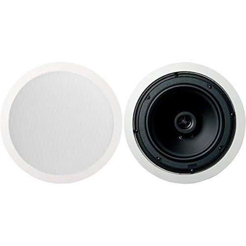 Jamo 8.5CS 8.5' Round In-Ceiling Surround Sound Home Theater Speakers - Pair