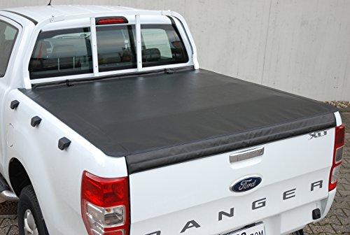 BONYTOPS Ranger XLT LADERAUMABDECKUNG TONNEAU Soft Cover FÜR Double-CAB SCHUTZGITTER Version 1