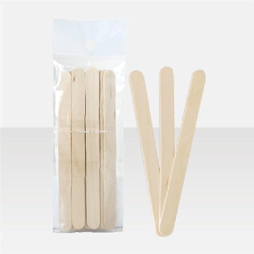枕ステレオタイプの頭の上ブラジリアンワックス 脱毛ワックス用  ワックススパチュラ 木ベラ /10本セット Sサイズ