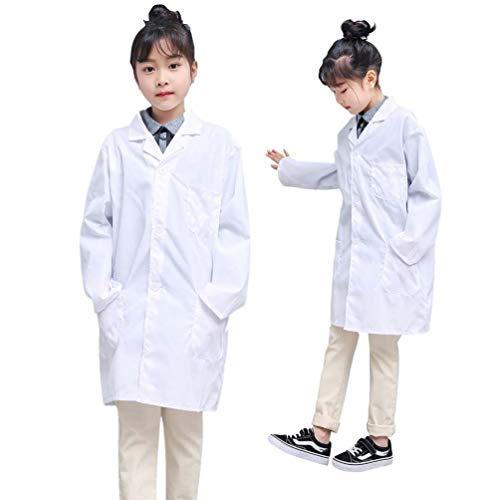 kids lab coat scientist or doctors Costume Children