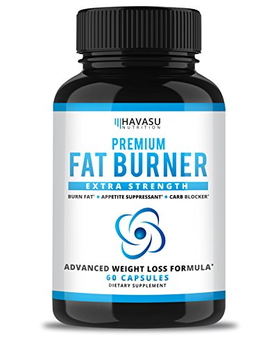 Havasu Nutrition Extra Strength Weight Loss Pills and Keto Appetite Suppressant - CLA, Green Tea Extract, Apple Cider Vinegar, White Kidney Beans - Fat Burner & Metabolism Booster, 60 Capsules