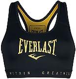 Everlast EVL Brand BR Sport BHS - BHS para mujer, color negro y dorado negro / dorado M