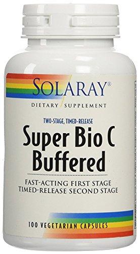 Solaray | Super Bio Vitamin C | 500 mg | 100 vegane Retardkapseln