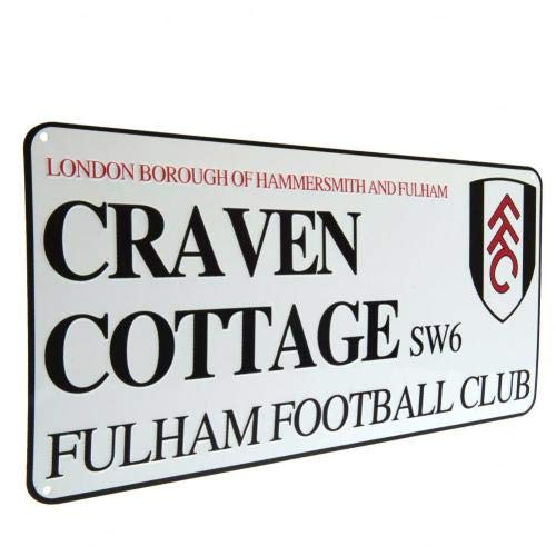 Fulham FC Street Sign Official Merchandise