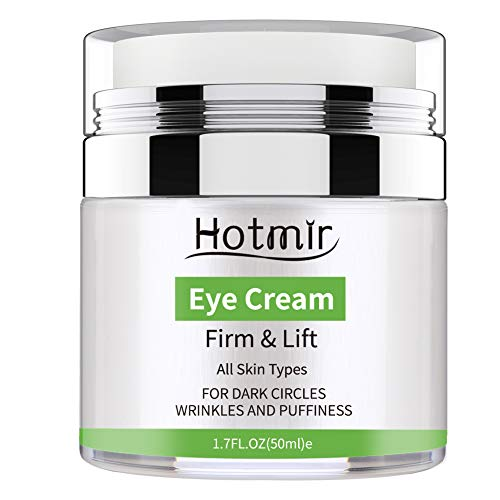 Hotmir Eye Cream for Dark Circles and Puffiness, | Under Eye Cream Treatment, Wrinkles and Fine Lines, | Anti-aging Bags - 1.7 fl oz