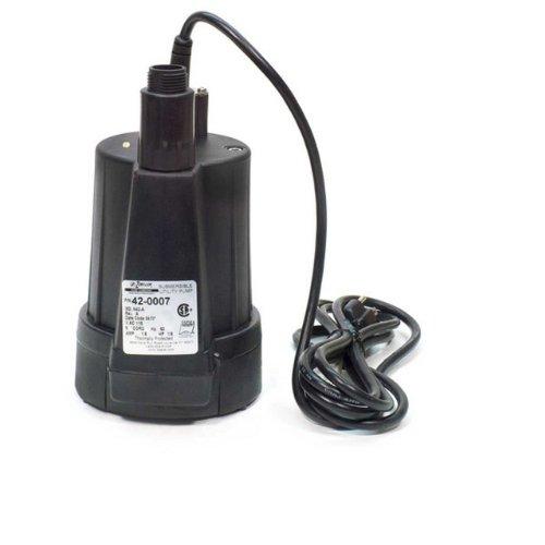 Zoeller-42-0007 Floor-Sucker-II-Utility-Pump-1/6-HP & 9-Ft-Cord