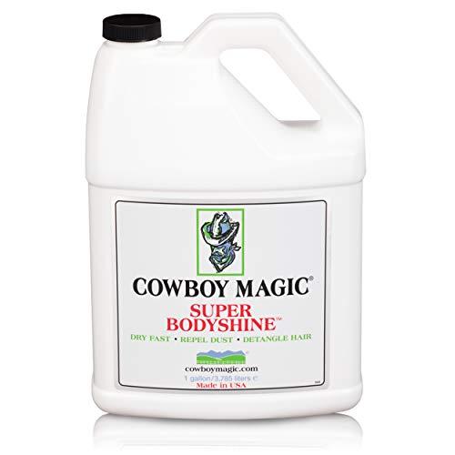 Cowboy Magic Unisex Super Bodyshine, wit, 3,8 liter
